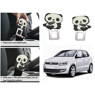 Takecare Safety Seat Belt Buckle Alarm Stopper Clip Clamp For Volkswagen Polo Old