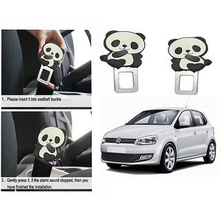 Takecare Safety Seat Belt Buckle Alarm Stopper Clip Clamp For Volkswagen Polo New 2014-2015
