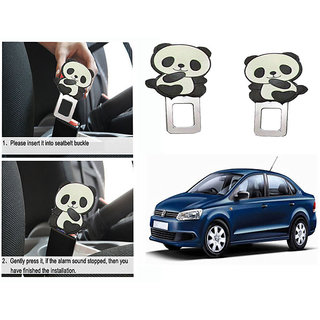 Takecare Safety Seat Belt Buckle Alarm Stopper Clip Clamp For Volkswagen Vento 2014-2015