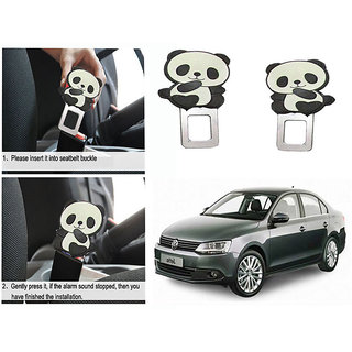 Takecare Safety Seat Belt Buckle Alarm Stopper Clip Clamp For Volkswagen Jetta New 2014-2015
