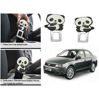 Takecare Safety Seat Belt Buckle Alarm Stopper Clip Clamp For Volkswagen Jetta Old