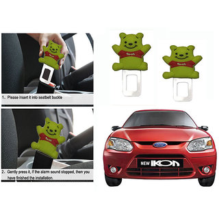Takecare Safety Seat Belt Buckle Alarm Stopper Clip Clamp For Ford Ikon