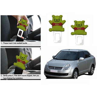 Takecare Safety Seat Belt Buckle Alarm Stopper Clip Clamp For Maruti Swift Dzire New 2011-2014