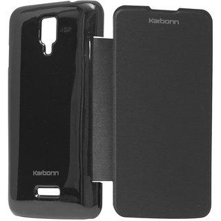 Karbonn S5 Plus Flip Cover