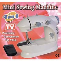 Portable 4 In 1 Mini Sewing Machine With Battery / Electricity Power Mode