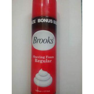 Brooks Shaving Foam In Never Before..Bonus Pack..500 ml
