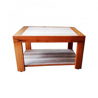 Buy Teak Wood Center Table Online - Get 35% Off