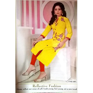 Desinger Cotton Long Kurti