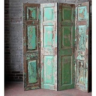 Vintage Jodhpuri Screen SalvagedDoors Room Divider