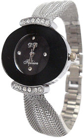 Gorgeous Analog Silver Stainless Steel Wrist Watch (GH-652) - Women