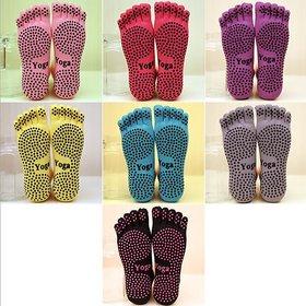 Yoga Non slip socks Non skid for sports pilates exercise dance socks Men  Women
