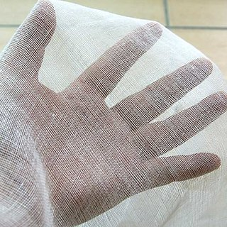Premium  Muslin Extra Fine Fabric Cheese Cloth Gauze 100 Cotton White 1 Yard