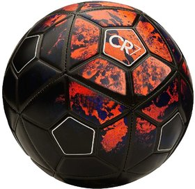 Shoppers CR7 Black/Red Football (Size-5)