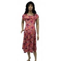 MOTHERS 2B MATERNITY DRESS ORANGE 1615 (XXL)