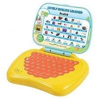 PraSid Lovely English Learner Kids Laptop LemonOrange