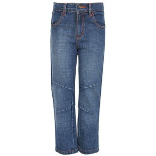 Bells  Whistles Blue Regular Fit Jeans
