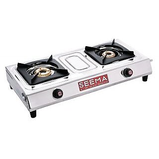 SEEMA Hi-Fi Double Burner Eco Stainless Steel