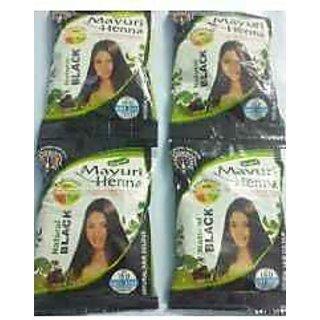 Buy Mayuri Heena Hair Black Heena Mehndi 20 Pouch Online Get 7 Off