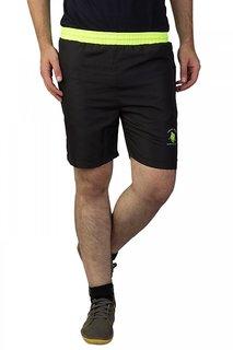 Greenwich United Polo Club Black Neon Shorts