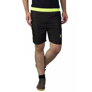Greenwich United Polo Club Black Neon Shorts