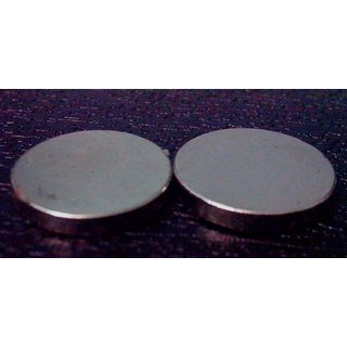 Neodymium N52 Magnet Pair (set of 2) 12 x 3 mm
