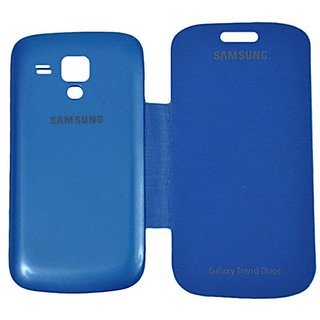 Snaptic Blue Flip Cover for Samsung Galaxy S Duos S7562Duos 2 S7582