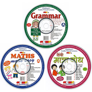 Pack of 3-Fun & Learn-Best Learning CD for Your Kids