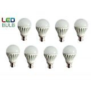 Jugnoo 9w LED Bulb Set Of 8