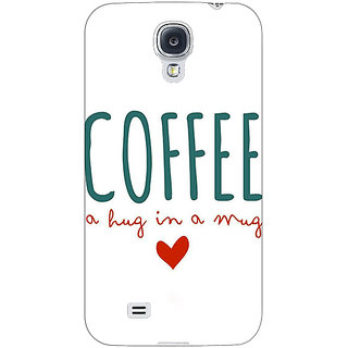 1 Crazy Designer Coffee Quote Back Cover Case For Samsung Galaxy S4 Mini I9192 C161299