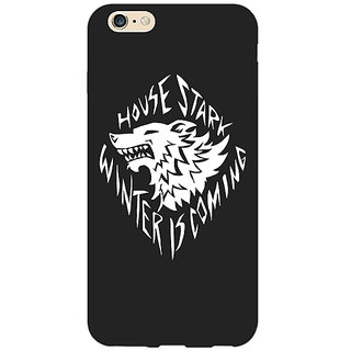 1 Crazy Designer Game Of Thrones GOT House Stark  Back Cover Case For Apple iPhone 6 Plus C170121