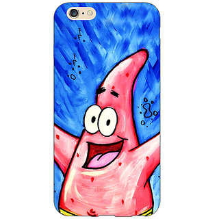 1 Crazy Designer Spongebob Patrick Back Cover Case For Apple iPhone 6 Plus C170463