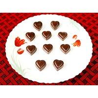 Chocolates - 15 Heart Shaped Fruits & Nuts Chocolates