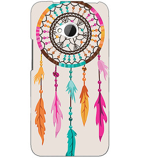 1 Crazy Designer Dream Catcher  Back Cover Case For HTC One M7 C190199