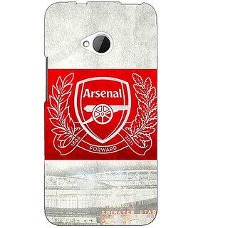1 Crazy Designer Arsenal Alexis Sanchez Back Cover Case For HTC One M7 C190510