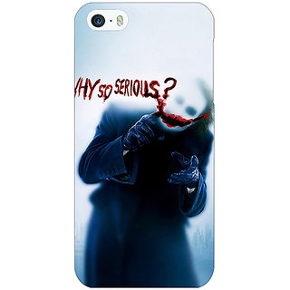 1 Crazy Designer Villain Joker Back Cover Case For Apple iPhone 5 C20041