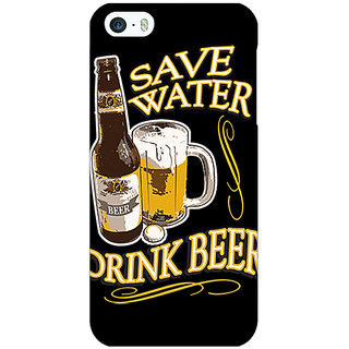1 Crazy Designer Beer Quote Back Cover Case For Apple iPhone 5 C21235
