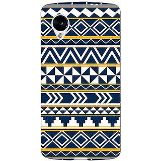 1 Crazy Designer Aztec Girly Tribal Back Cover Case For Google Nexus 5 C40060