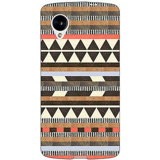 1 Crazy Designer Aztec Girly Tribal Back Cover Case For Google Nexus 5 C40062