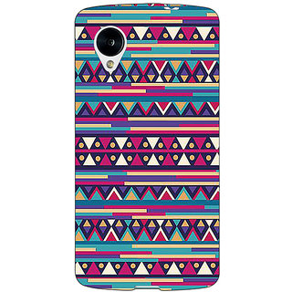 1 Crazy Designer Aztec Girly Tribal Back Cover Case For Google Nexus 5 C40063