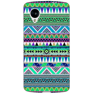 1 Crazy Designer Aztec Girly Tribal Back Cover Case For Google Nexus 5 C40064