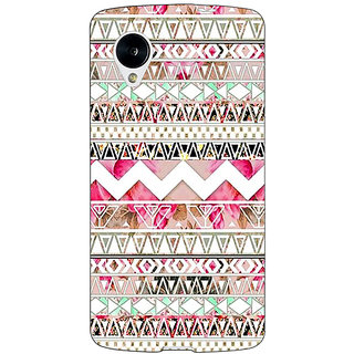 1 Crazy Designer Aztec Girly Tribal Back Cover Case For Google Nexus 5 C40066