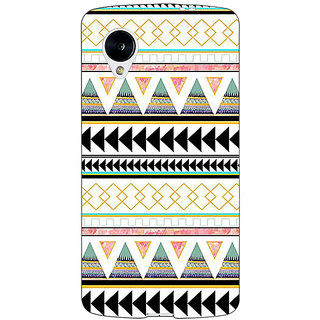 1 Crazy Designer Aztec Girly Tribal Back Cover Case For Google Nexus 5 C40067