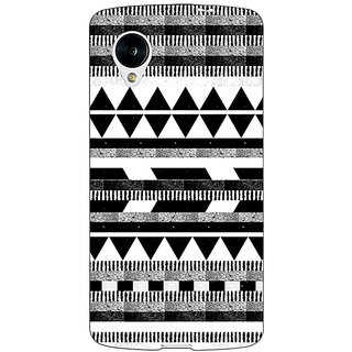 1 Crazy Designer Aztec Girly Tribal Back Cover Case For Google Nexus 5 C40069
