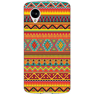 1 Crazy Designer Aztec Girly Tribal Back Cover Case For Google Nexus 5 C40070