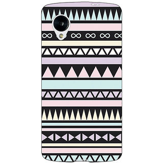 1 Crazy Designer Aztec Girly Tribal Back Cover Case For Google Nexus 5 C40071