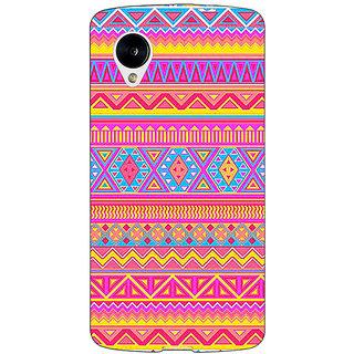 1 Crazy Designer Aztec Girly Tribal Back Cover Case For Google Nexus 5 C40072