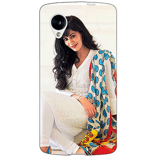 1 Crazy Designer Bollywood Superstar Chitrangada Singh Back Cover Case For Google Nexus 5 C41042