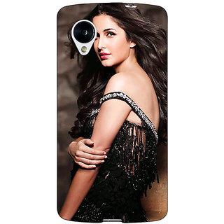 1 Crazy Designer Bollywood Superstar Katrina Kaif Back Cover Case For Google Nexus 5 C41048