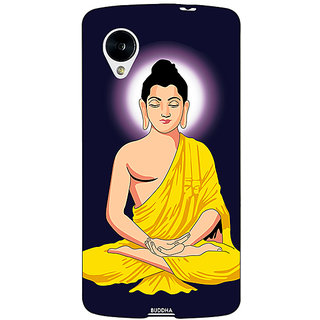 1 Crazy Designer Gautam Buddha Back Cover Case For Google Nexus 5 C41266