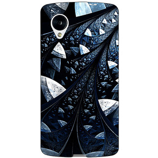 1 Crazy Designer Abstract Design Pattern Back Cover Case For Google Nexus 5 C41523